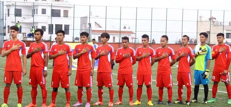 नेपाली फुटबल टोली कीर्गिस्तान प्रस्थान