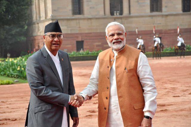 भारतीय प्रधानमन्त्री मोदी नेपाल आउँदै