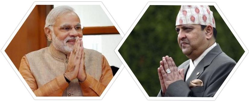 पूर्व श्री ५ संग भारतीय प्रधानमन्त्रीको भेट !