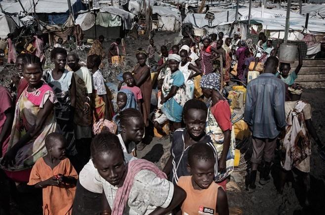सन् २०१७ सम्ममा ५५ लाख अफ्रिकी विस्थापित