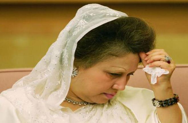 बंग्लादेशमा पूर्व प्रधानमन्त्री जिया भ्रष्टाचारमा दोषी ठहर