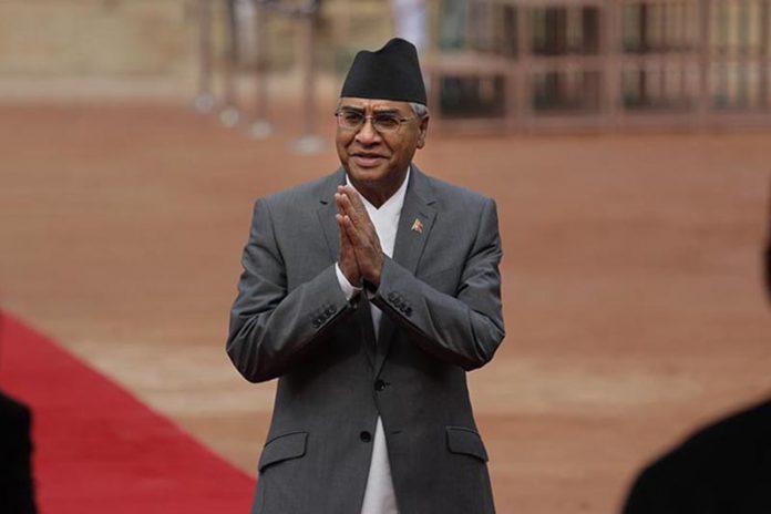 प्रधानमन्त्री देउवाद्धारा देशबासीलाई सम्बोधन गर्दै पदबाट राजीनामा
