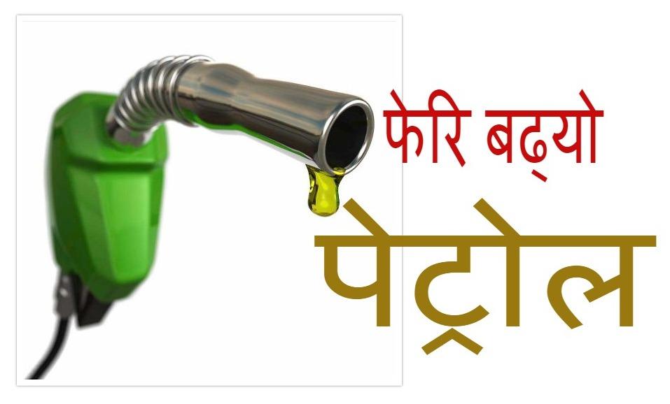 नेपाल आयल निगमद्वारा पुनः पेट्रोलियम पदार्थको मूल्य वृद्धि
