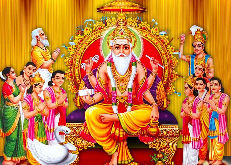Rastrabani.com | » अाज विश्वकर्मा पूजा अर्थात् वास्तु दिवस: विश्वकर्मा  बाबाको पूजा गरि मनाईदै