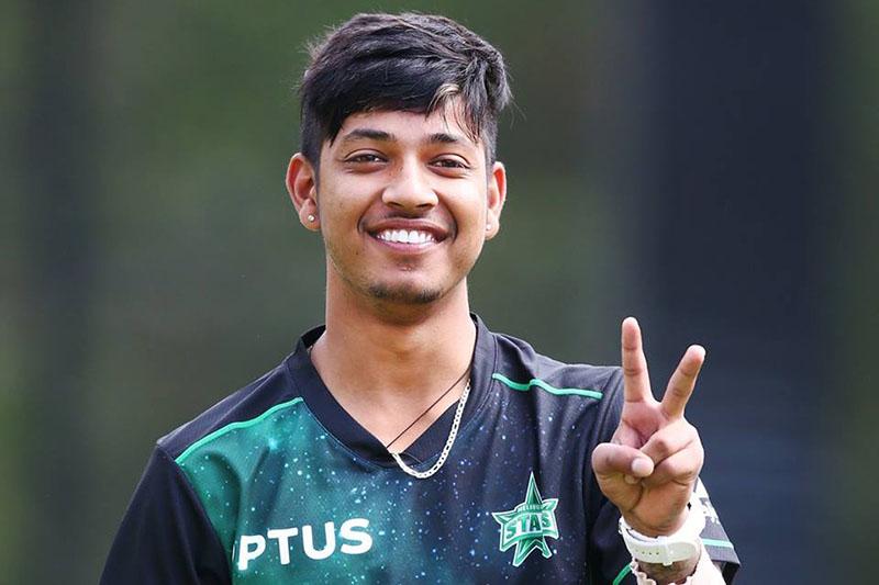 क्रिकेटर सन्दीप लामिछाने कोरोना संक्रमण मुक्त