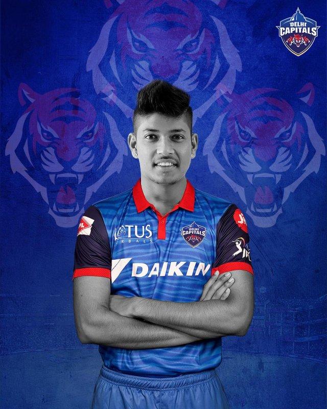 नेपाली स्टार क्रिकेटर सन्दीप आईपीएल खेल्न यूएईमा