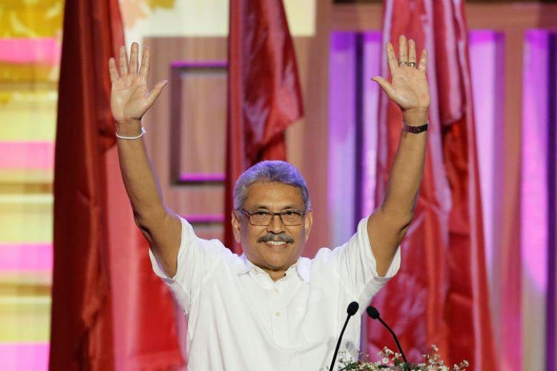 श्रीलङ्काको राष्ट्रपतिमा विपक्षी दलका उम्मेदवार राजापाक्षे विजयी