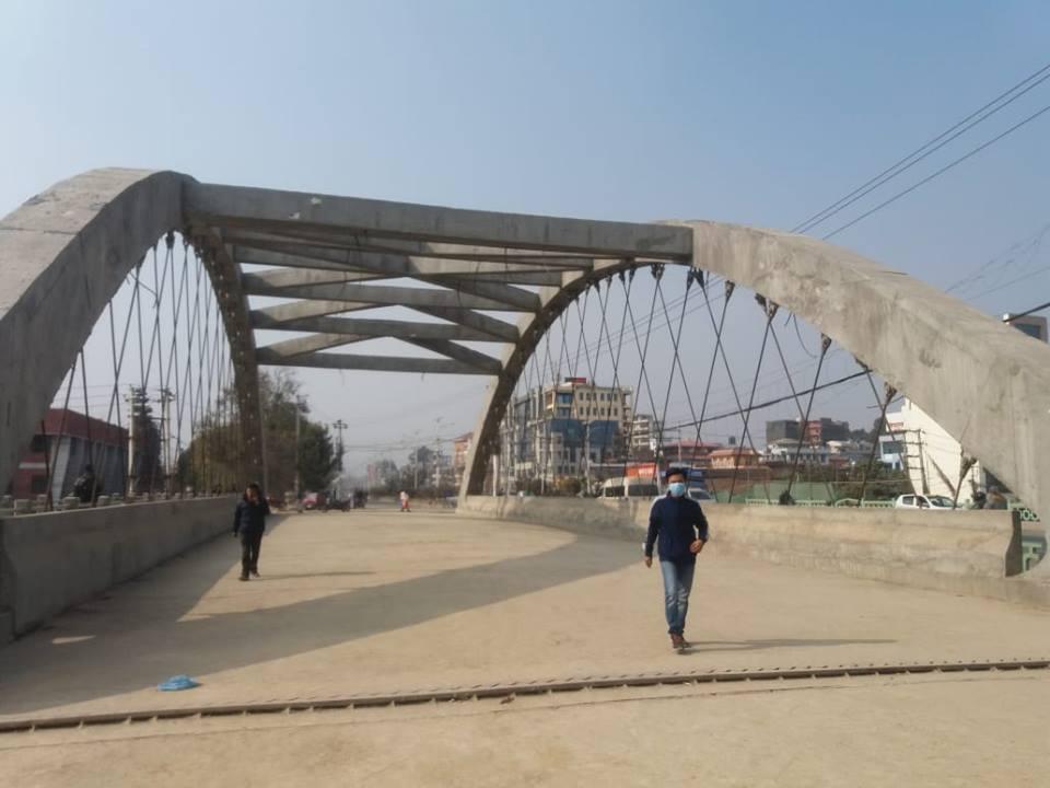 नेपालकै पहिलो 'नेटवर्क आर्क पुल'को निर्माण सम्पन्न