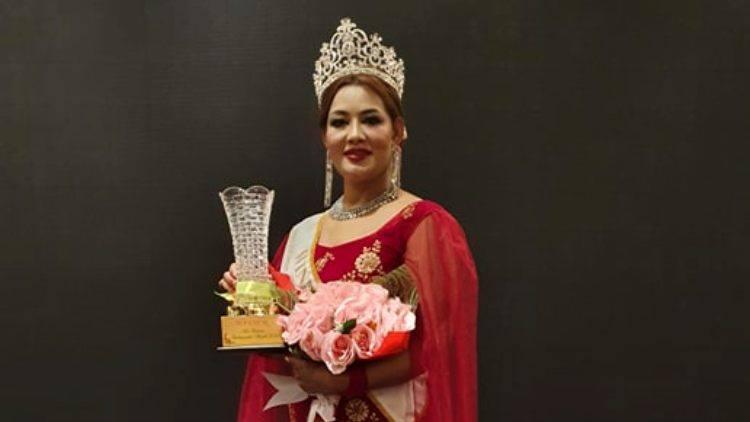 मलेशियामा सम्पन्न: मिसेस टुरिजम एम्बेस्डरको ताज शिलास्मालाई