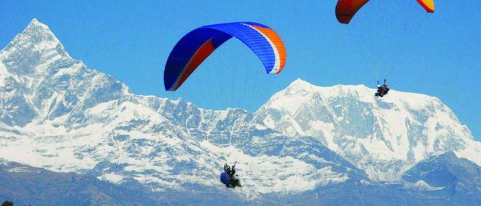 प्याराग्लाइडिङ च्याम्पियनसीपमा नेपाल दोस्रो