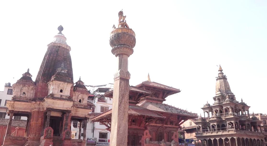 लकडाउनको नवौं दिन यस्तो देखियो पाटन कृष्ण मन्दिर (भिडियो)