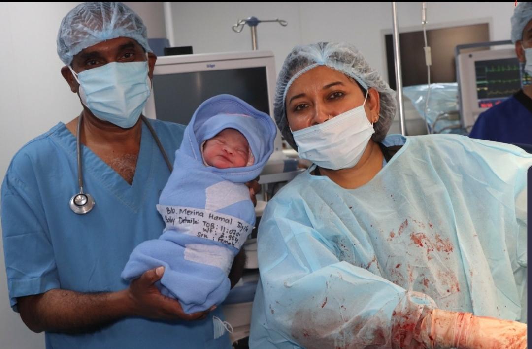 नर्भिकमा १ सय ६८ किलोकी महिलाले जन्माइन् स्वस्थ शिशु, नेपालकै प्रशूती इतिहासमा पहिलो रेकर्ड
