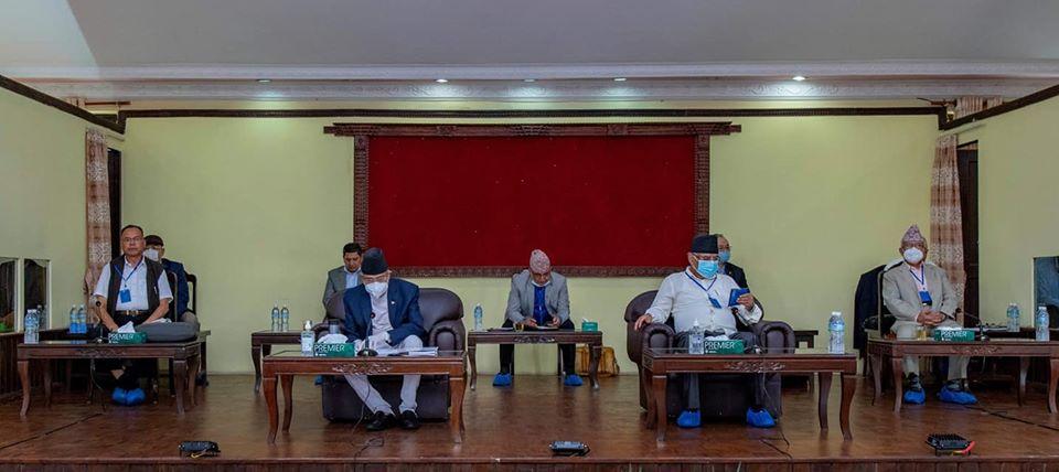 नेपाल कम्युनिष्ट पार्टीको सचिवालय बैठक पेरिस डाँडामा बस्दै
