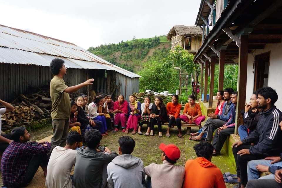 महांकालमा 'लुकेको गाउँ युवा क्लब' गठन