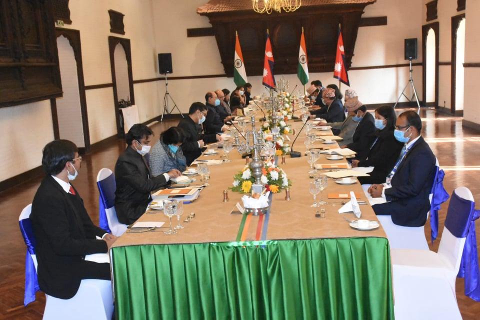 नेपाल–भारत परराष्ट्र सचिवस्तरीय बैठक सम्पन्न