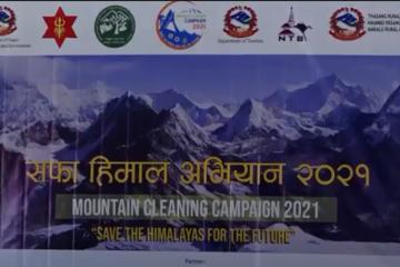 सफा हिमाल अभियानः २७ हजार ६७१ किलो फोहोर र चारवटा शव संकलन